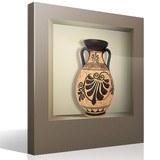 Wandtattoos: Nischen Griechische Vase 2