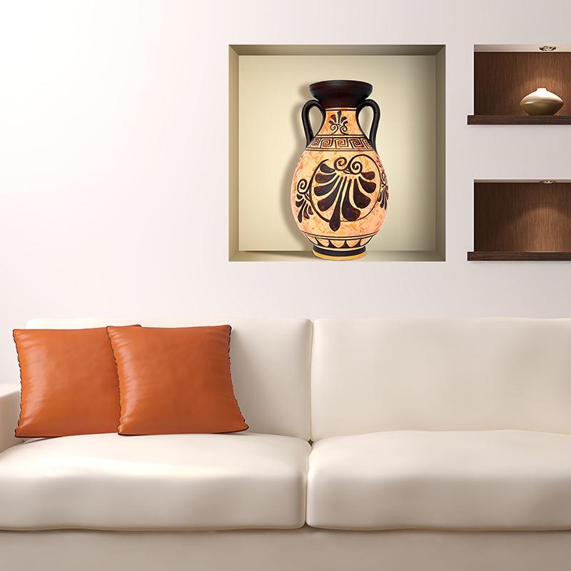 Wandtattoos: Nischen Griechische Vase