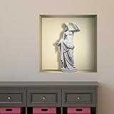 Wandtattoos: Nischen Statue der Venus 5