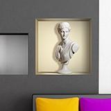 Wandtattoos: Nischen Antike Statue aus Marmor 5