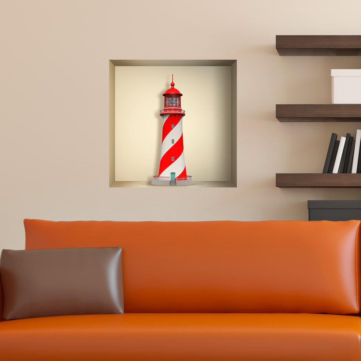 Wandtattoos: Nischen Maritime Leuchtturm