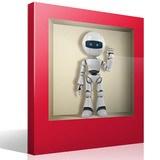 Wandtattoos: Nischen-Roboter 2