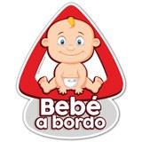 Aufkleber: Baby an Bord auf Spanisch 4