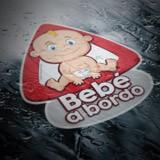 Aufkleber: Baby an Bord auf Spanisch 6