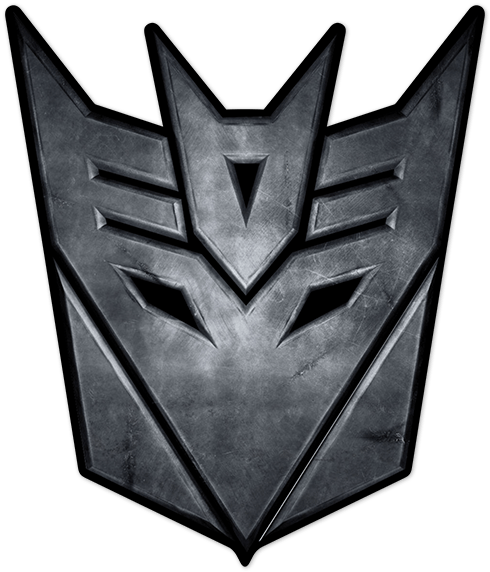 Aufkleber: Transformers Decepticon Logo
