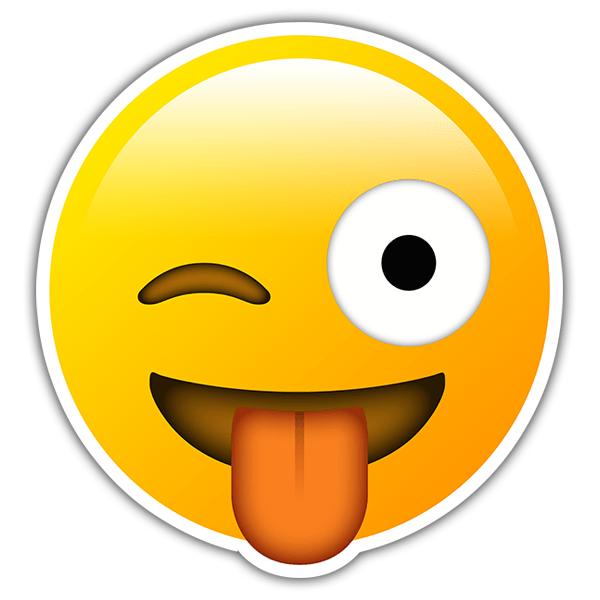 Emoji Zwinkern