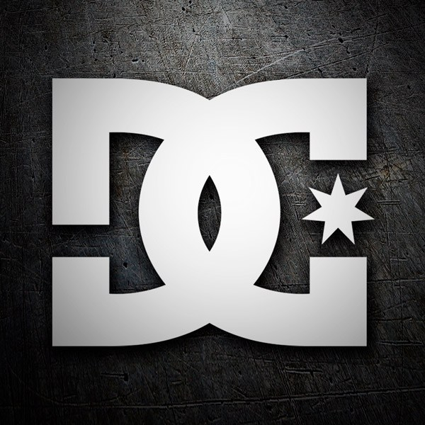 Aufkleber: DC SHOES USA LOGO