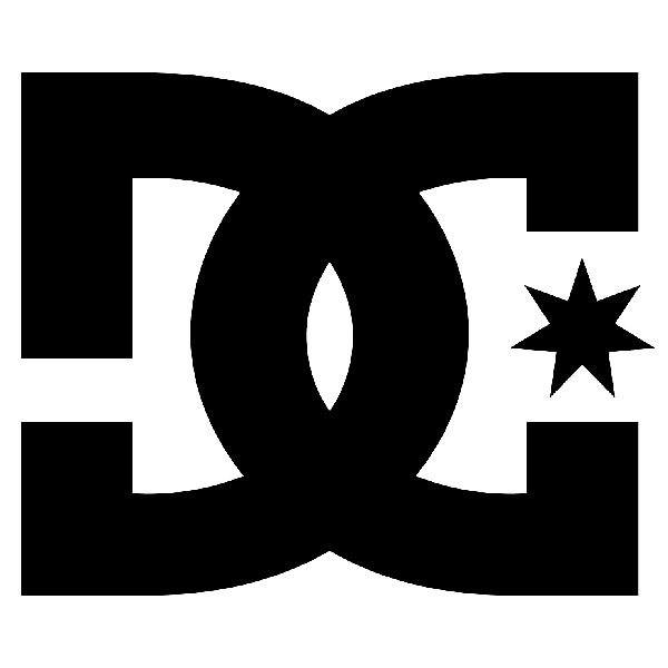 Aufkleber: DC SHOES USA