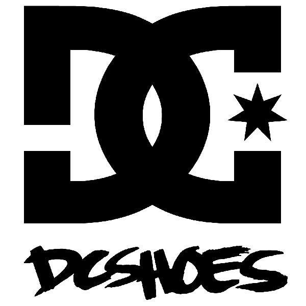 Aufkleber: DC SHOES USA 2