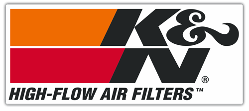 Aufkleber: K&N High-Flow Air Filters 0