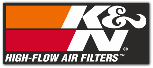 Aufkleber: K&N High-Flow Air Filters 2 0