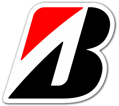 Aufkleber: Bridgestone logo