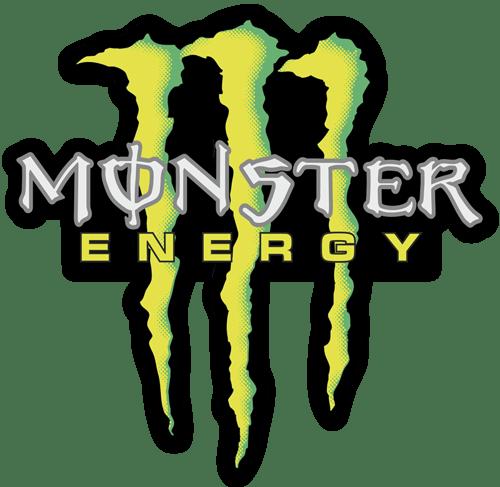 Aufkleber: Monster Energy 5