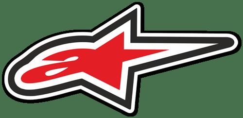 Aufkleber: Alpinestars logo 2