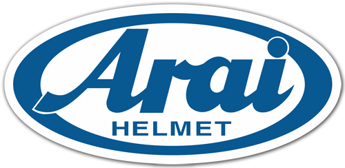 Aufkleber: Arai Helmet 2