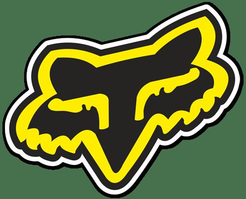 Aufkleber: Fox logo 6