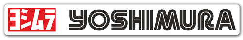 Aufkleber: Yoshimura 7