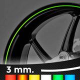 Aufkleber: Neon kit Felgenrandaufkleber 3 mm. 3