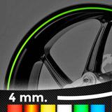 Aufkleber: Neon kit Felgenrandaufkleber 4 mm. 3