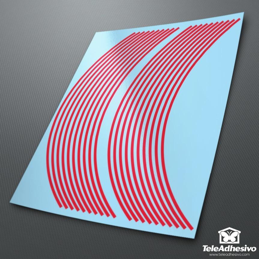 Aufkleber: Neon kit Felgenrandaufkleber 4 mm.