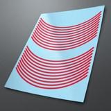 Aufkleber: Neon kit Felgenrandaufkleber 6 mm. 2