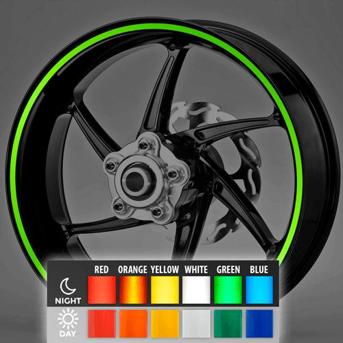 Aufkleber: Neon kit Felgenrandaufkleber 8 mm.