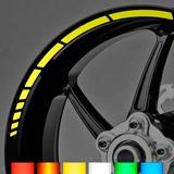 Aufkleber: Neon Moto GP Style kit Felgenrandaufkleber 10 mm. 3