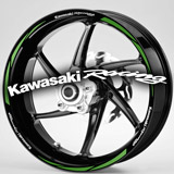 Aufkleber: MotoGP Kawasaki Racing kit Felgenrandaufkleber 2