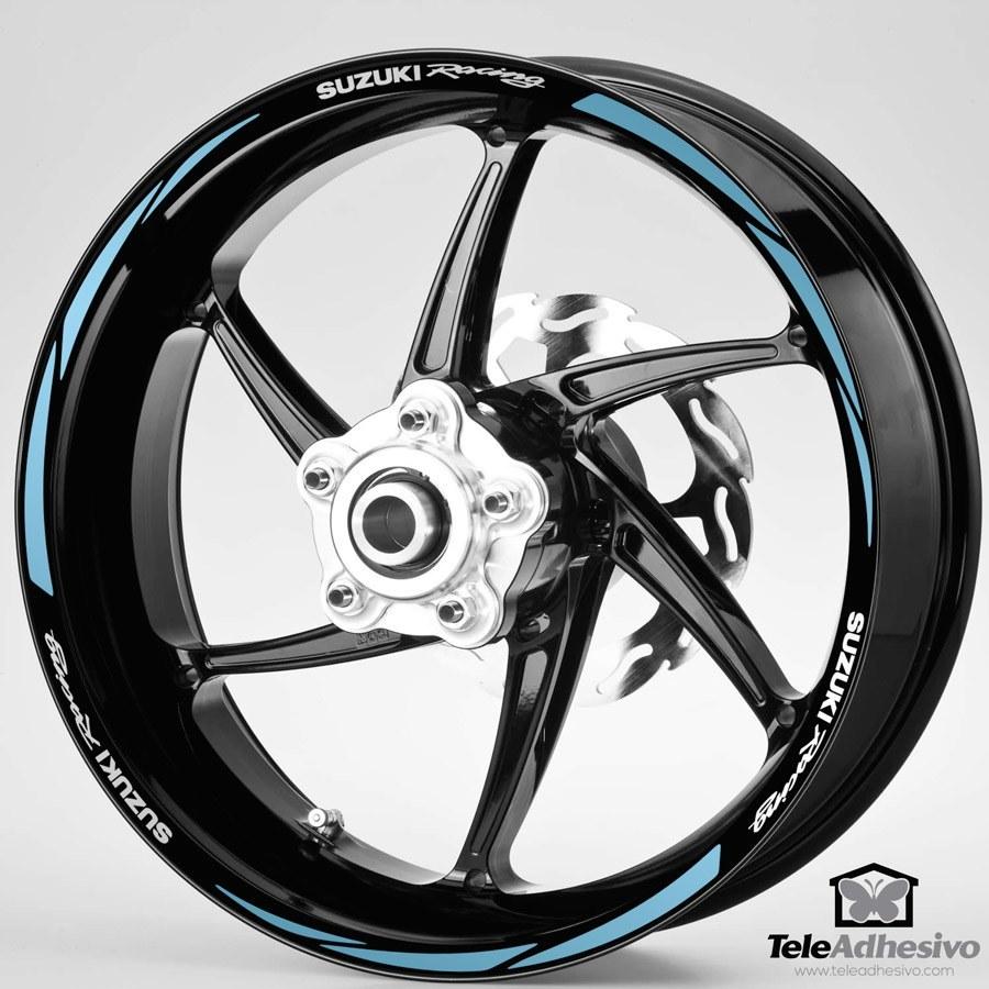Aufkleber: MotoGP Suzuki Racing kit Felgenrandaufkleber