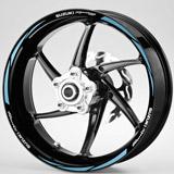 Aufkleber: MotoGP Suzuki Racing kit Felgenrandaufkleber 2