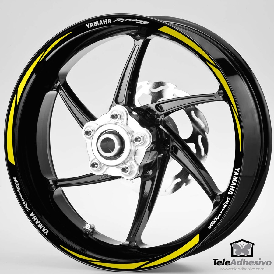 Aufkleber: MotoGP Yamaha Racing kit Felgenrandaufkleber