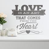 Wandtattoos: Love is an Art 0