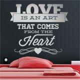 Wandtattoos: Love is an Art 2