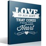 Wandtattoos: Love is an Art 3