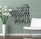 Wandtattoos: The Best Mum in the World 2
