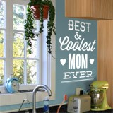 Wandtattoos: Best & Coolest Mom Ever 2