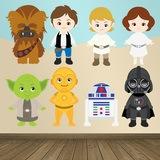 Kinderzimmer Wandtattoo: Star Wars kit 0