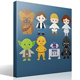 Kinderzimmer Wandtattoo: Star Wars kit 4