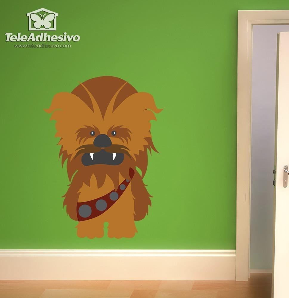Kinderzimmer Wandtattoo: Chewbacca