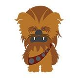 Kinderzimmer Wandtattoo: Chewbacca 4