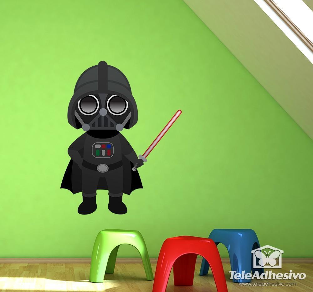Kinderzimmer Wandtattoo: Darth Vader
