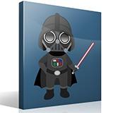 Kinderzimmer Wandtattoo: Darth Vader 4