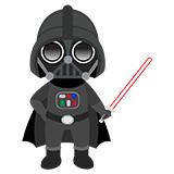 Kinderzimmer Wandtattoo: Darth Vader 6