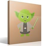 Kinderzimmer Wandtattoo: Yoda 4