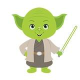 Kinderzimmer Wandtattoo: Yoda 6