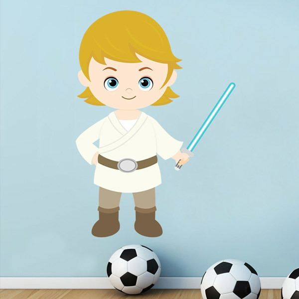 Kinderzimmer Wandtattoo: Luke Skywalker