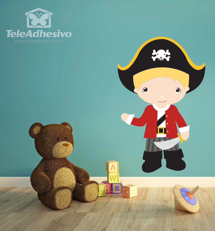 Kinderzimmer Wandtattoo: Blond Hauptmann