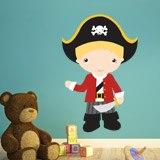 Kinderzimmer Wandtattoo: Blond Hauptmann 3