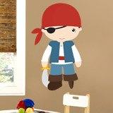 Kinderzimmer Wandtattoo: Corsair Pegleg 3