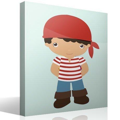 Kinderzimmer Wandtattoo: Schiffsjunge